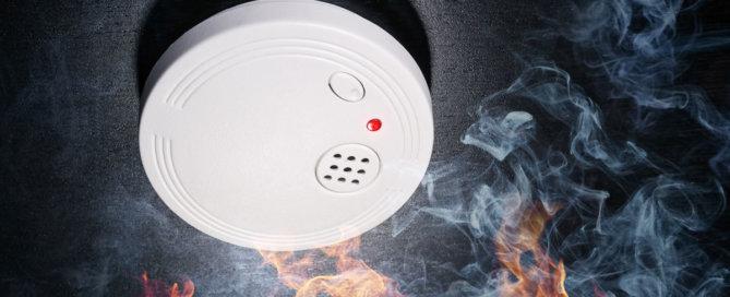 Vorteile Brandschutz durch Trockenbau - Feuer Rauchmelder